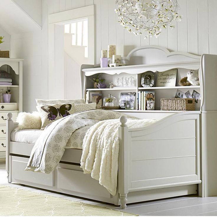 Inspirations by Wendy Bellissimo Twin Westport Bookcase Daybed with Trundle/Storage Drawer by Legacy Classic Kids | Wolf Furniture