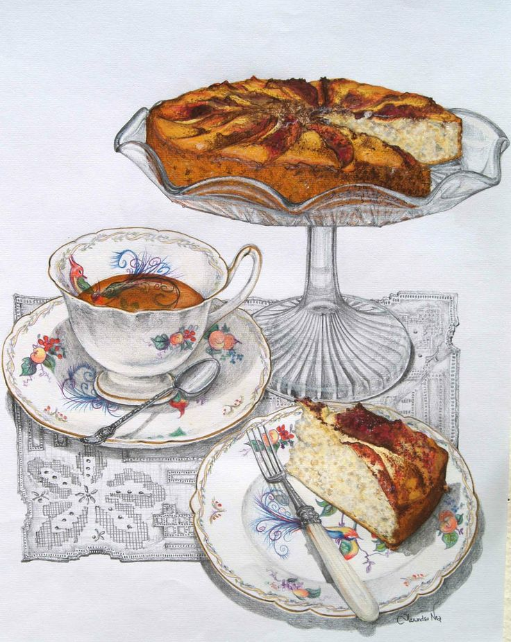 paintings of teatime | Some Home Truths: When Home is... the Art of Afternoon Tea