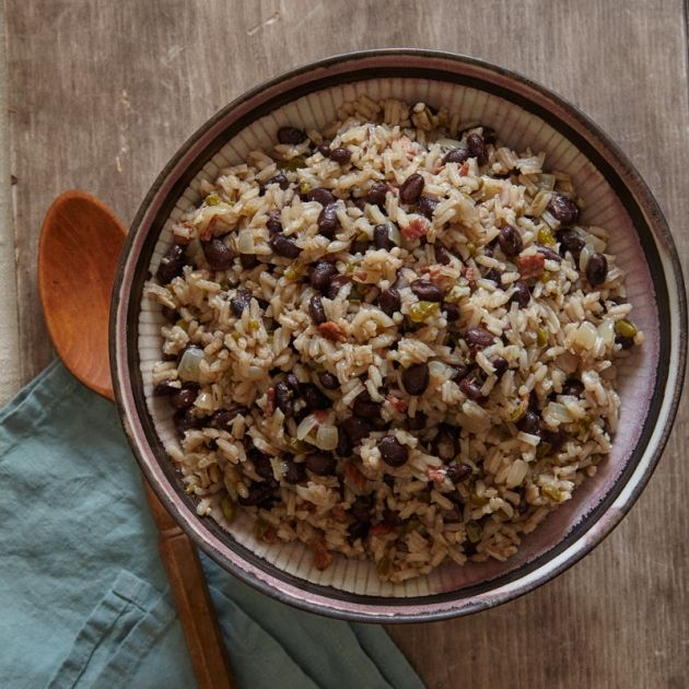Skinny points recipes cuban rice and black beans for Table 52 recipes