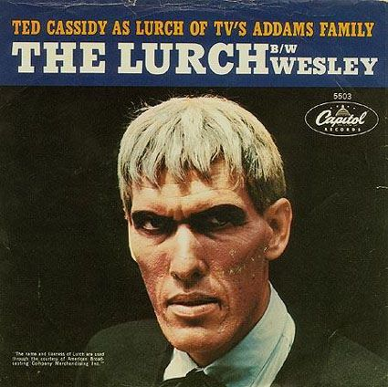 Lurch!!  He made an album? I would love to have it!