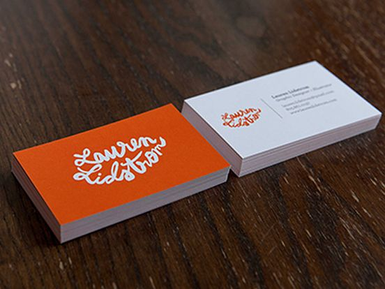 Lauren Lidstrom Business Cards | Business Cards | The Design Inspiration