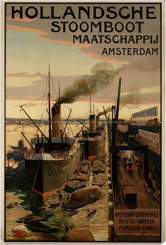Reclame posters | 1900-1925 | HSM | Vintageposter.nl | Vintage Posters | Historische Posters | Historical Posters