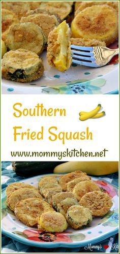 Mommy's Kitchen - Recipes from my Texas Kitchen!!! Fried squash is a classic southern side dish that uses garden-fresh yellow and zucchini squash. #squash #gardening #gardenfresh #recipes #mommyskitchen #vegetables #southern #ontheblog