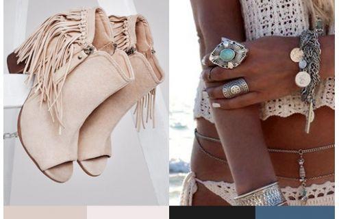 Boho / Trendy - Buty w stylu gwiazd. Modne obuwie, najnowsze trendy, atrakcyjne ceny. Sklep z butami i ubraniami, modne buty letnie i zimowe - DeeZee.pl