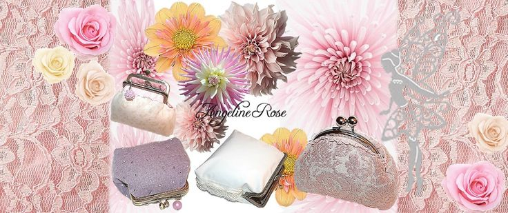 Beautiful unique handmade purses, clutches, evening bags, cosmetic bags, bridal clutches, make-up bags and coin purses for you. Worldwide shipping. Shop: https://www.etsy.com/shop/AngelineRosePurse?ref=hdr_shop_menu