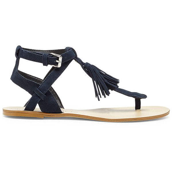 17 Best ideas about Navy Blue Flat Sandals on Pinterest ...