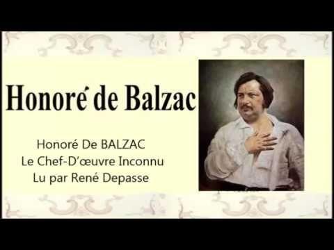 Version texte http://fr.wikisource.org/wiki/Le_Chef-d%E2%80%99%C5%93uvre_inconnu Lu par René Depasse Plus de 2000+ livres audio gratuitement, les chefs-d'œuv...