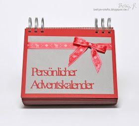 Bettys Crafts: Persönlicher Adventskalender