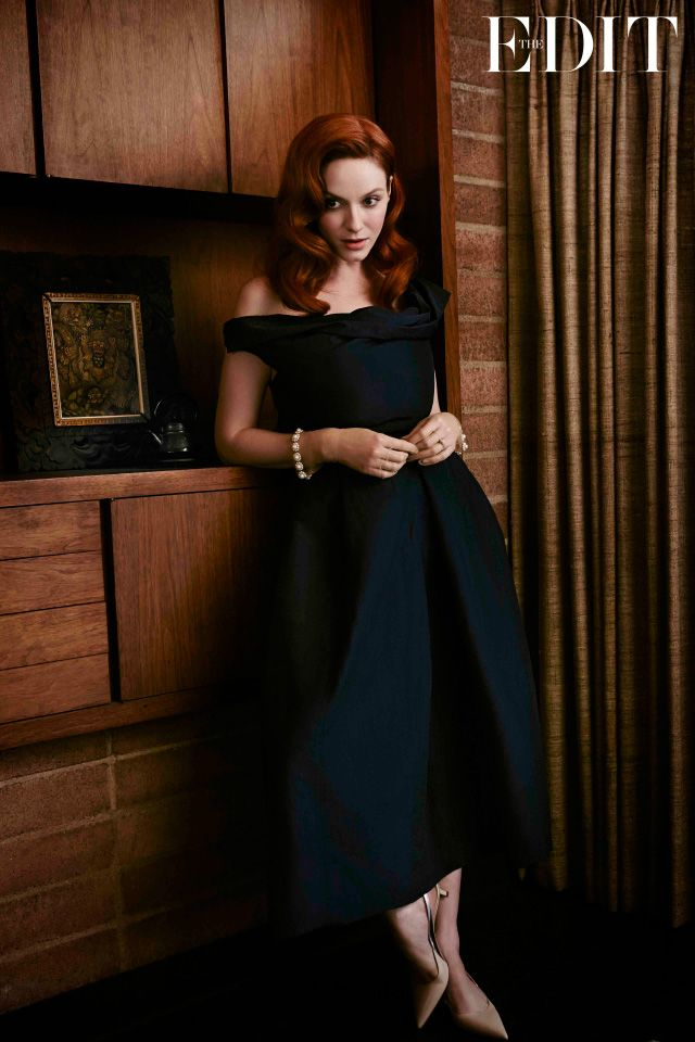 Christina Hendricks - Dress by Vivienne Westwood Anglomania