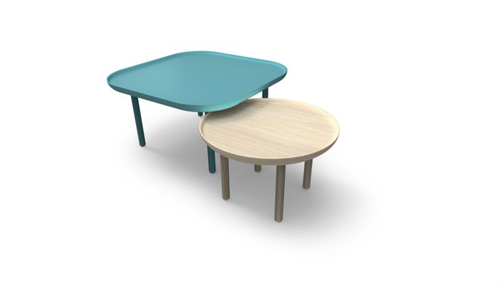 Panda table by Matti Klenell. #Design #table