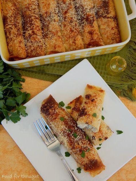 Food for thought: Κρέπες με κοτόπουλο και μανιτάρια