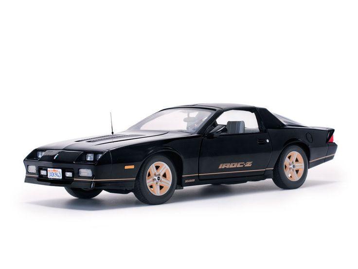 diecastmodelswholesale - 1985 Chevrolet Camaro IROC-Z Black 1/18 Diecast Model Car by Sunstar , $79.99 (https://www.diecastmodelswholesale.com/1985-chevrolet-camaro-iroc-z-black-1-18-diecast-model-car-by-sunstar/)