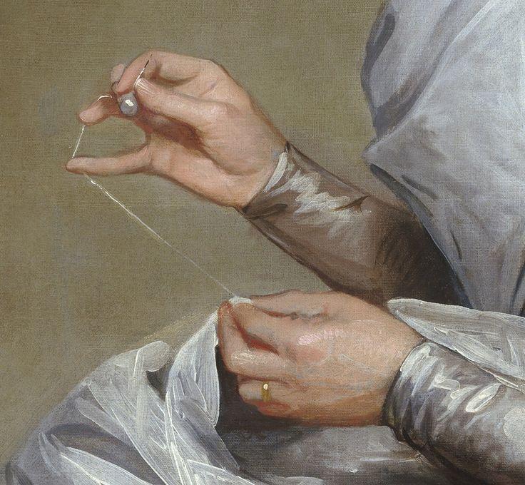 Gilbert Stuart Portrait: Mrs. Yates.
