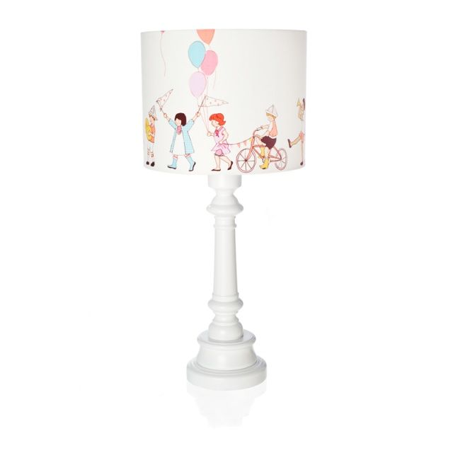 KIDS AT PARADE lamp - Lamps & Co.  Remarkable table lamp KIDS AT PARADE is a great idea for additional lighting in children's room.