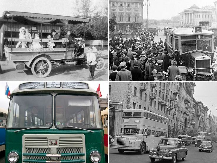History of Moscow bus