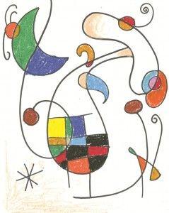 Com fer dibuixos inspirats en Joan Miró.