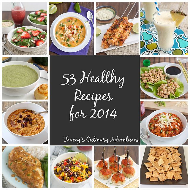 53 Healthy Recipes for 2014 by Tracey's Culinary Adventures
