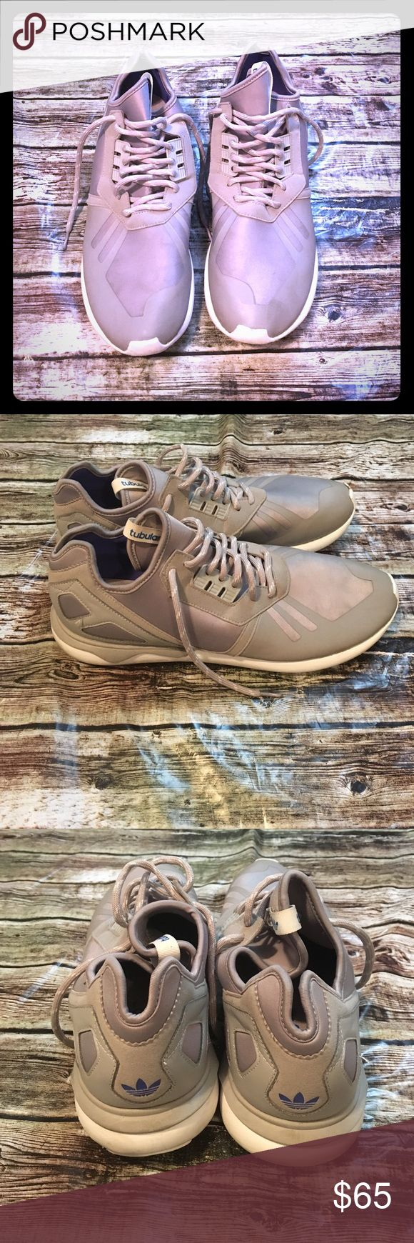 Adidas Tubular Shoes Great shoes, in great pre owned condition! Size 14. adidas Shoes Athletic Shoes