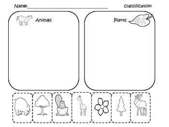 here 39 s a set of cut and paste pages for kindergarten students to practice classification in the. Black Bedroom Furniture Sets. Home Design Ideas