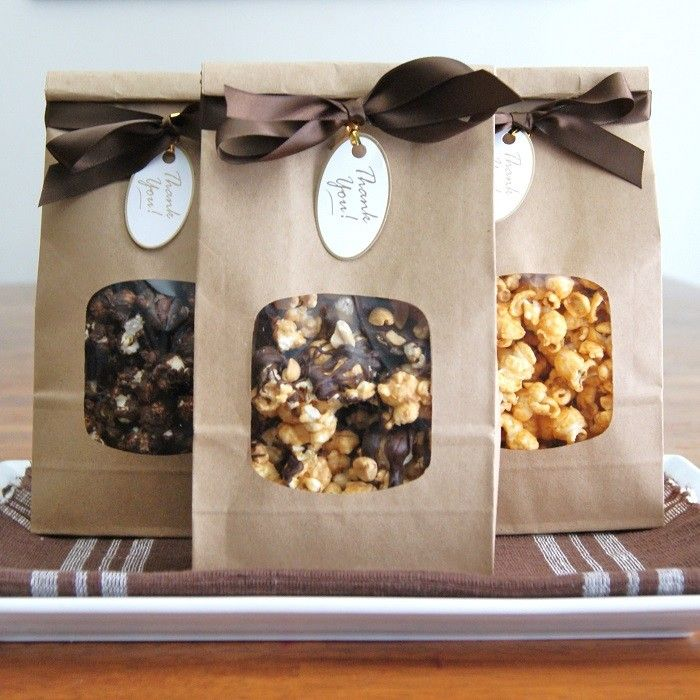 Fall/ Winter Hostess Gift ~ You Pick Three Gourmet Popcorn by Kait + Kylie