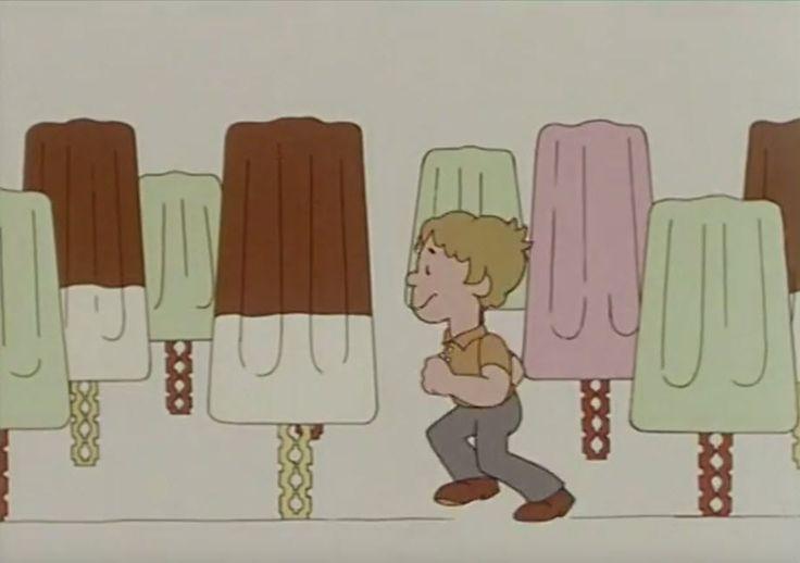 """""""Achtung, jetzt kommt der Super-Schleck"""": TV-Spot zum Dr. Oetker Eisvergnügen von 1972."""