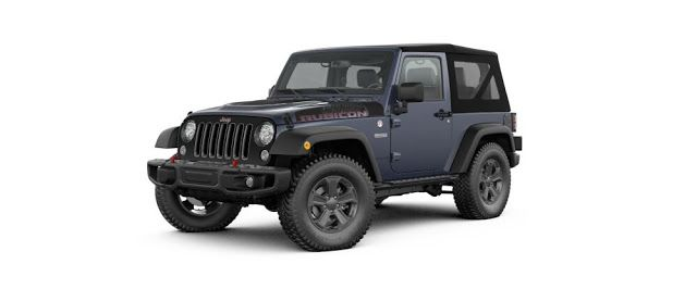 2017 Black Jeep Wrangler