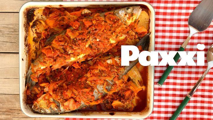 Λαβράκι στο φούρνο - Paxxi 1min