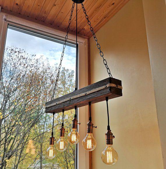 Wood Ceiling Light Fixture Wood Rustic Chandelier Pendant Light Chandelier Lighting In 2020 Ceiling Lights Rustic Chandelier Chandelier Pendant Lights