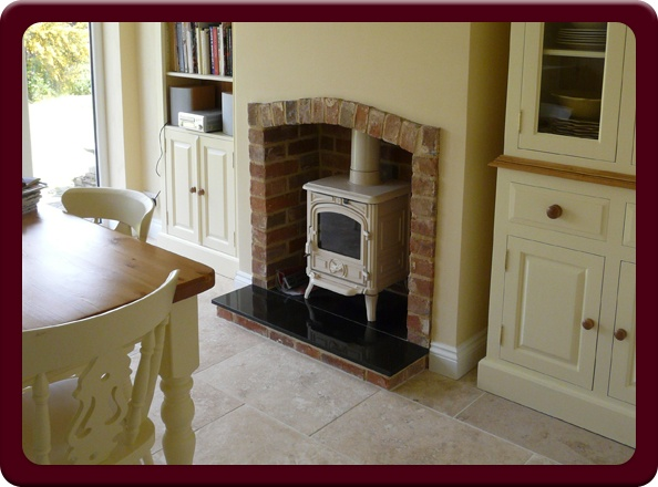 Wood burning fireplace - Suffolk - Heritage Classic Fireplaces and Stoves - slide 9