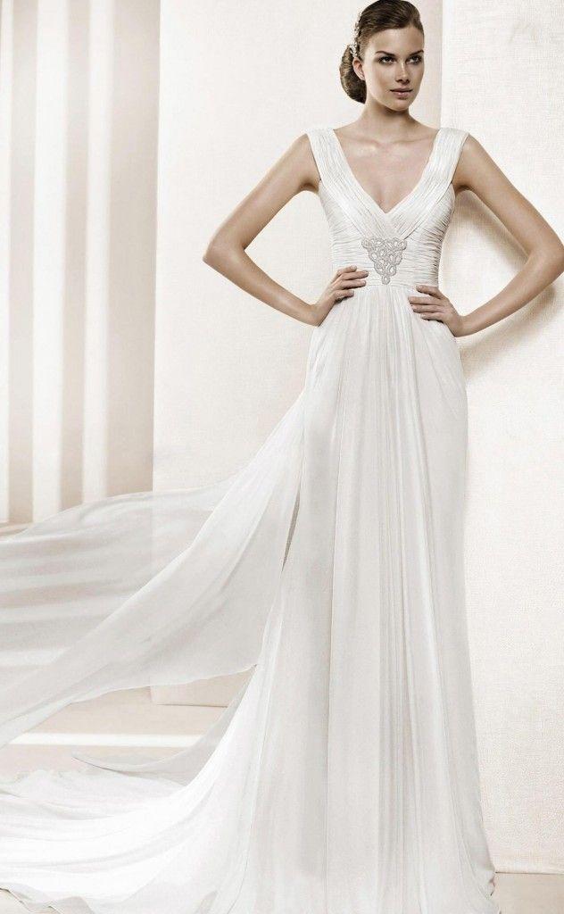40 best greek style wedding dresses yunan tarz for 40s style wedding dresses