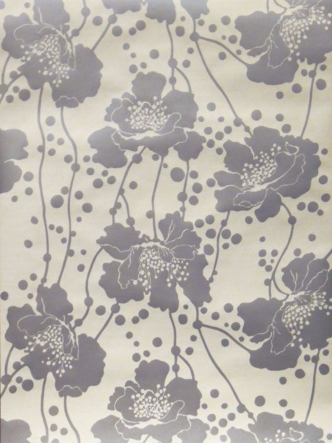 'Spotted Floral' Wallpaper - Florence Broadhurst - Signature Prints