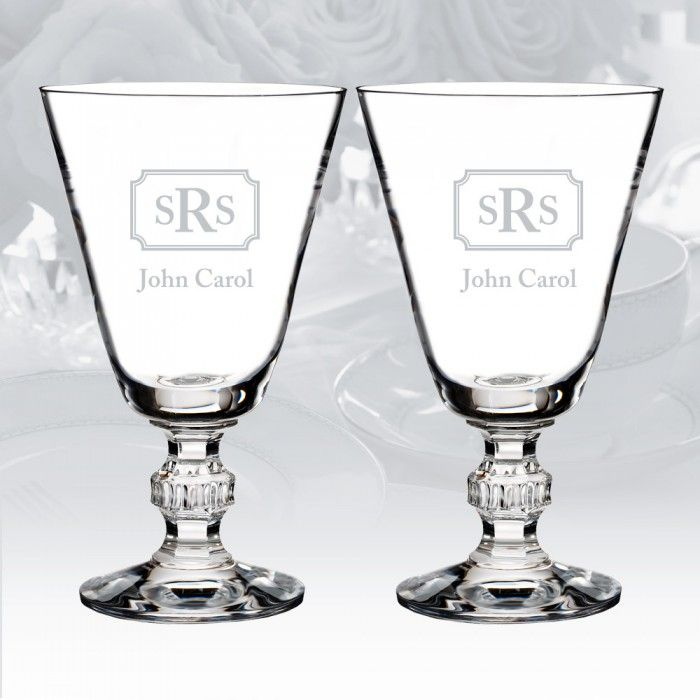 The Waterford Town & Country Ashton Lane Wine Glass Pair ($95)