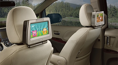 Toyota 4Runner Accessories--Rear Seat Entertainment
