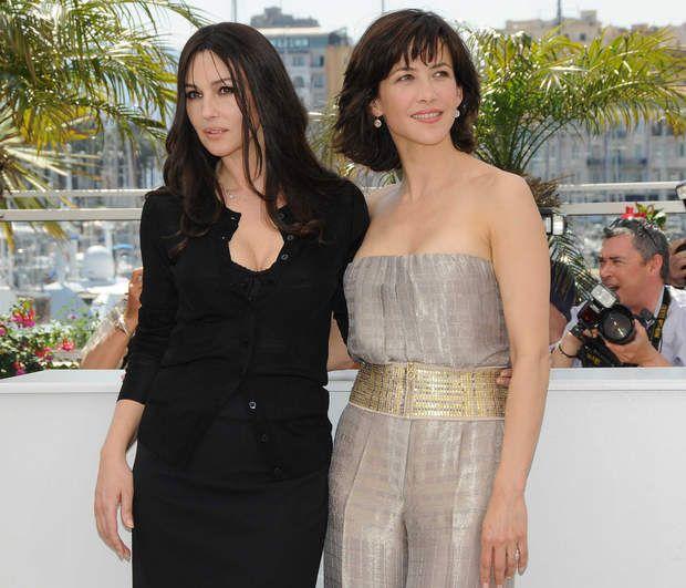 Le Festival de Cannes de Monica Bellucci : en 2009, elle présente Ne te retourne pas avec Sophie Marceau