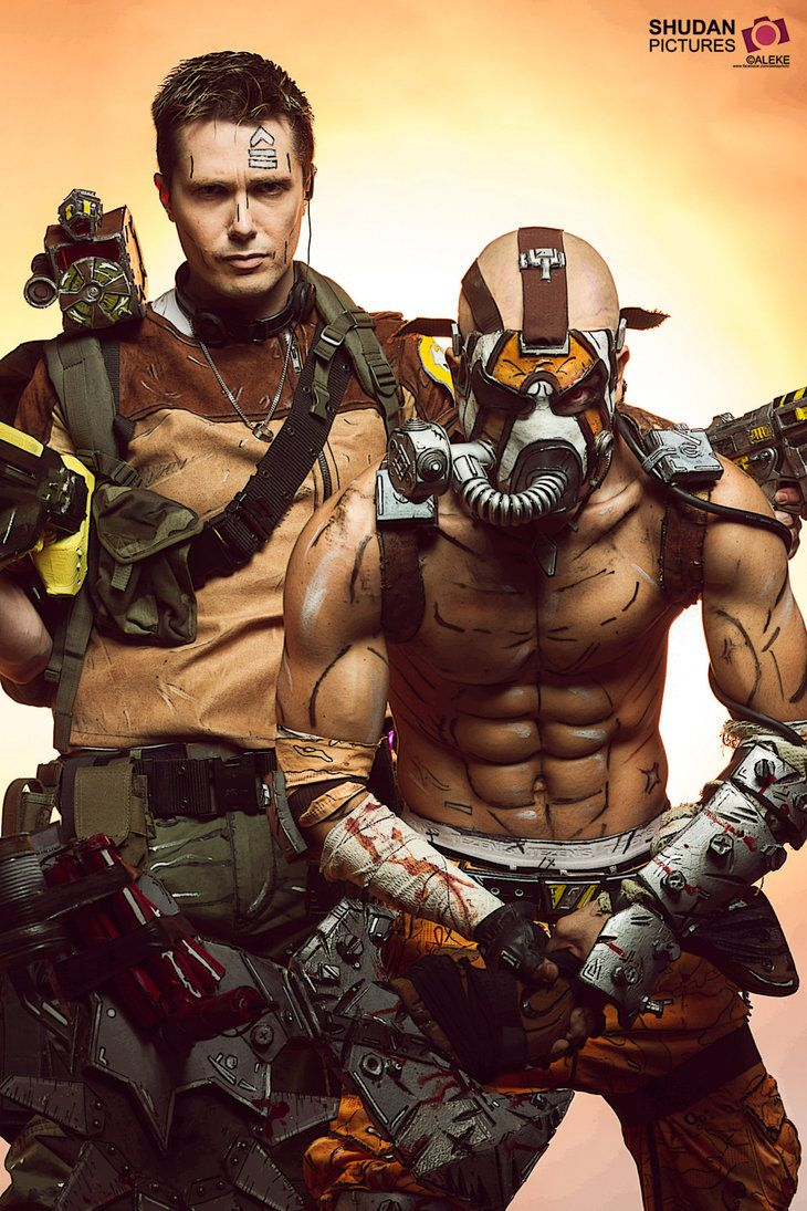 #Borderlands 2 - Axton / Krieg     Phil Lauby and Leon Chiro