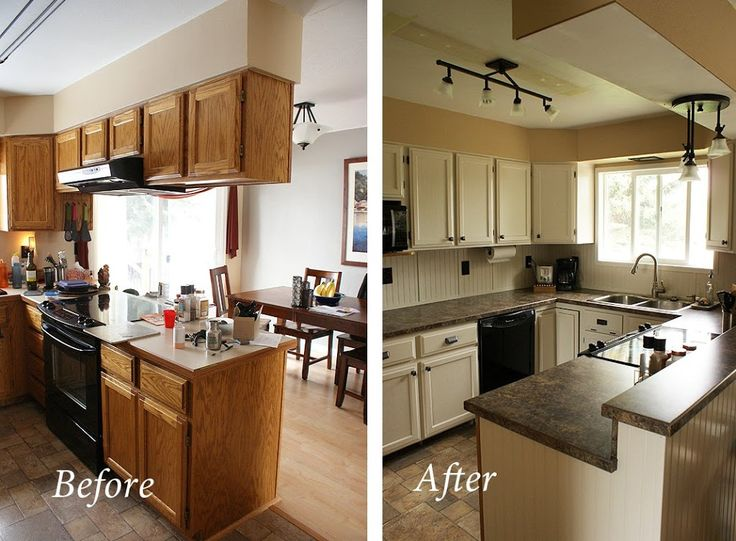 before and after 70 s kitchen remodel google search with images inexpensive kitchen on i kitchen remodel id=71712