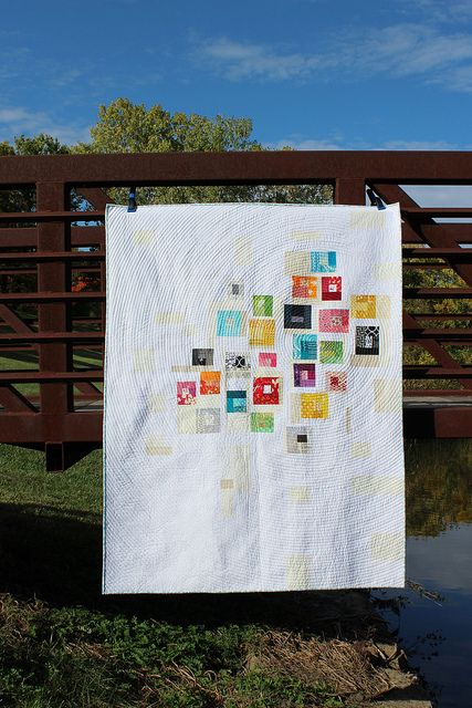 Tiny Log Cabin Quilt | Flickr :::