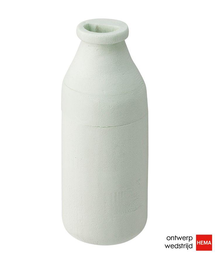 Een mooi vormgegeven melkschuimer die handig is in gebruik en je op het aanrecht kunt laten staan. Dat is wat Tom Water (TU Delft) heeft ontwikkeld met zijn Melkschuimer. Wil jij je stem uitbrengen op dit ontwerp? Dat kan vanaf maandag 16 juni op http://hemaontwerpwedstrijd.nl/