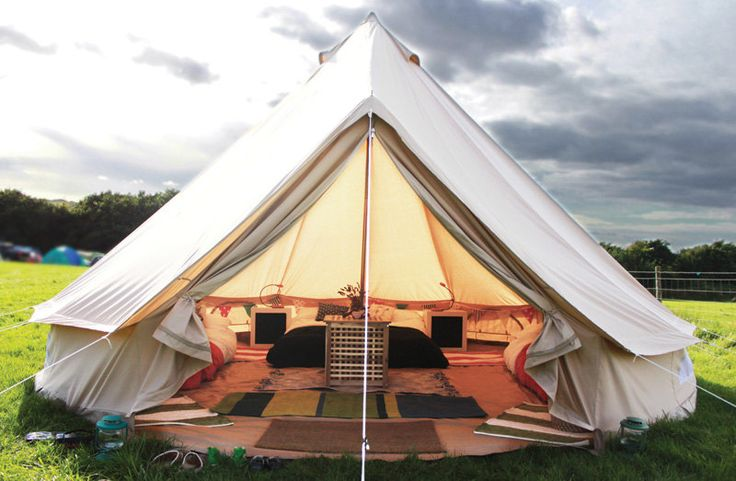 Coywolf Bell Tent for Glamping--Festival Tent-Yurt-Bohemian Style-Garden style-hipster 16 ft round-Sand Colored  Solution for immediate income while permanent bungalows are  in construction
