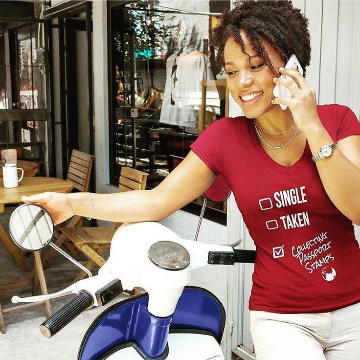 🔥 Our Single, Taken, Collecting Passport Stamps tee is selling fast! Get yours before they're gone AGAIN! ✈ . . . . #passportsandpurpose #smallbiz #travelgram  #womensstyle #motivation #inspiration #inspirational #style #womensfashion #instafashion #entrepreneur #ootd #wiwt #supportblackbusiness #stylegram #travellife #fashion #passportlife #blackownedbusiness #freedom #travel #buyblack #blackowned #business #instatravel #goals