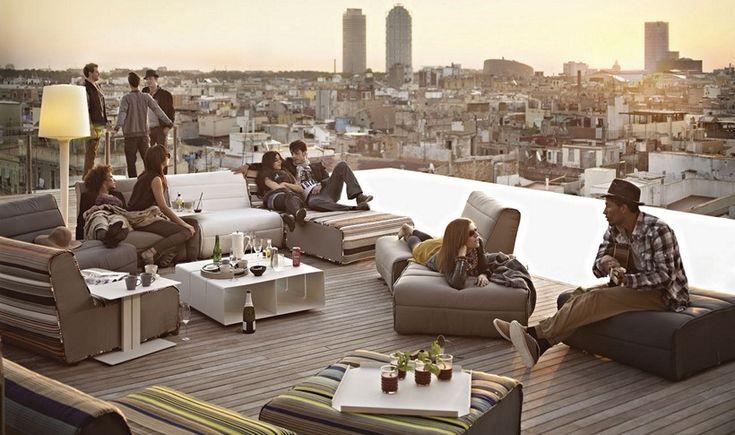 Βαρκελώνη: 6 υπέροχες ταράτσες για να πιείτε το ποτό σας
