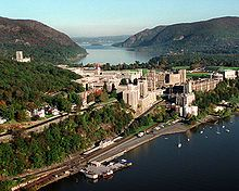 United States Military Academy @ West Point, NY.  many of our greatest leaders attended here.  Lee, Grant, Eisenhower, Patton
