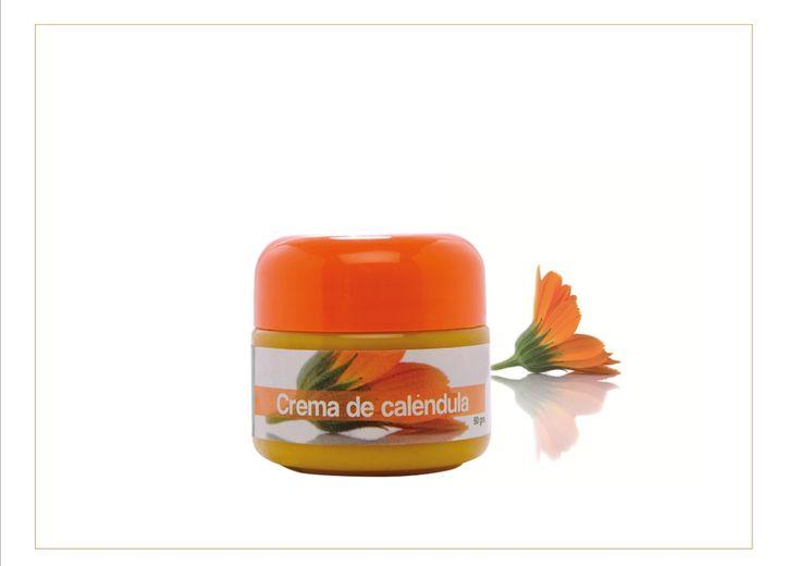 Crema de caléndula humectante ,antiinflamatoria, cicatrizante un producto elaborado de frma artesanal flor a flor .