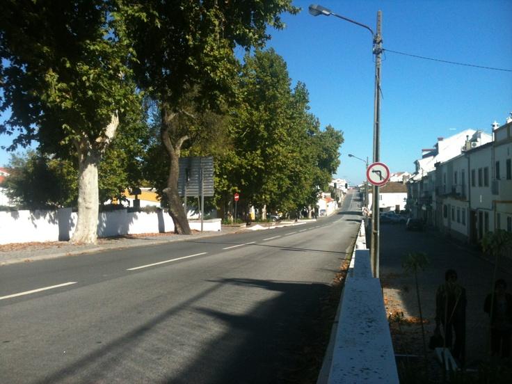One of the main streets - Alpalhão