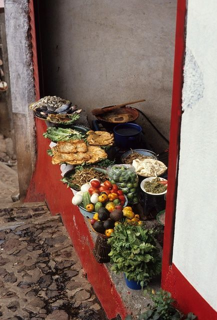 outdoor kitchen in mexico