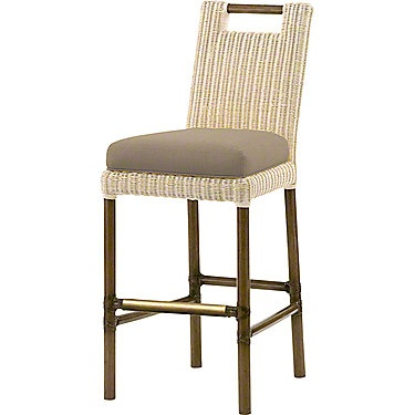 Thomas Pheasant Woven Core Bar Stool