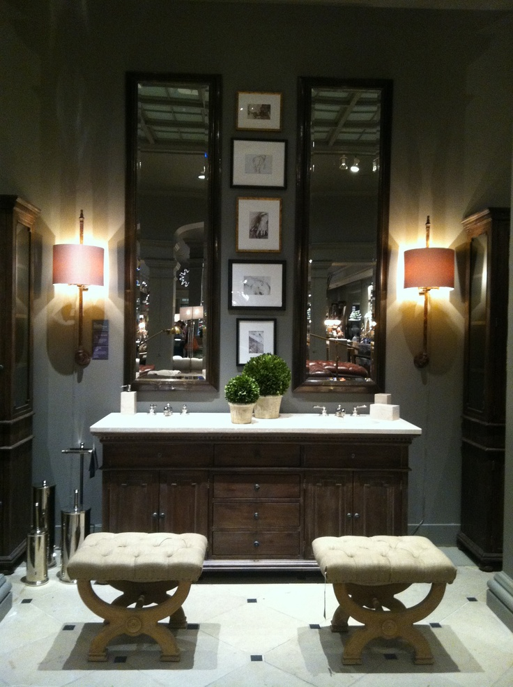 Restoration Hardware Showroom Bathroom Love The Look Of