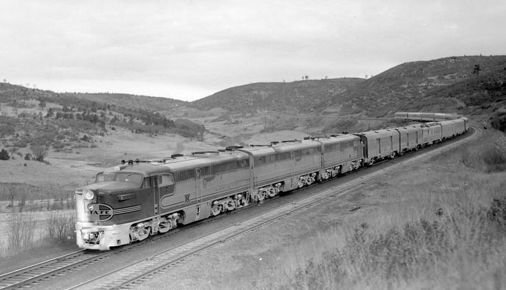 Image result for santa fe passenger trains on raton pass