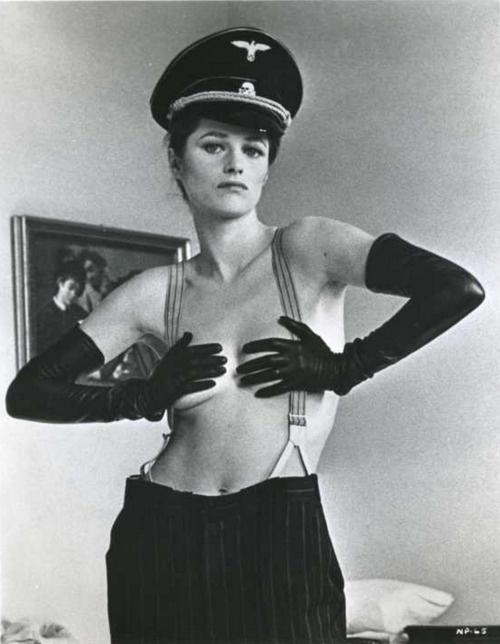 "Charlotte Rampling in ""The Night Porter"" 1974"