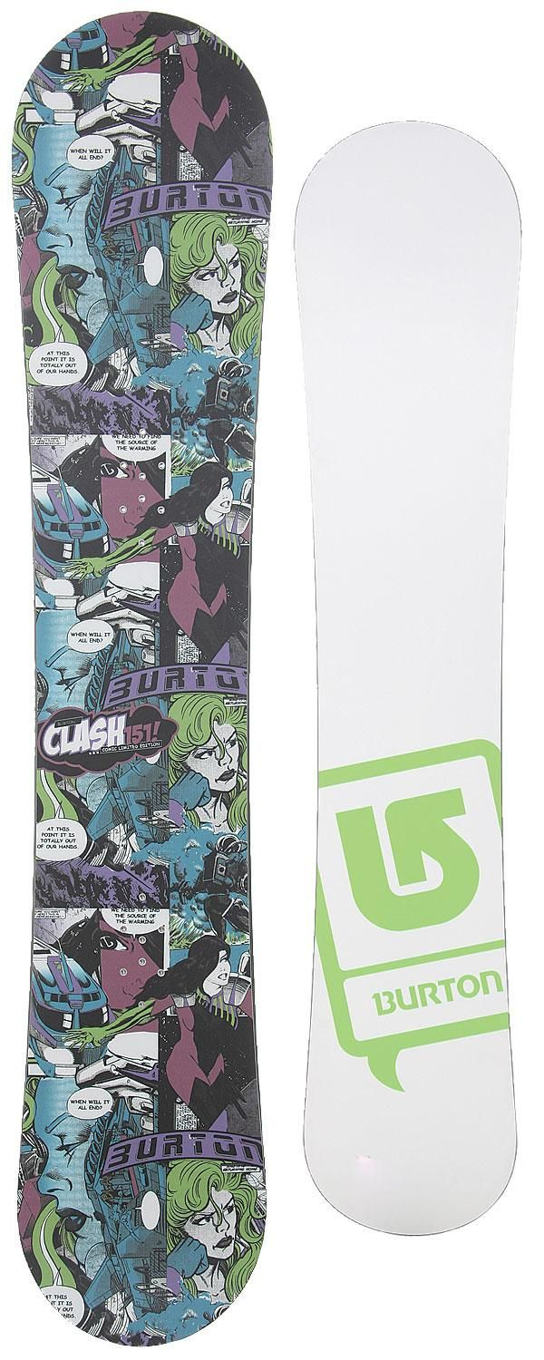 (CLICK IMAGE TWICE FOR PRODUCT DETAILS AND PRICING) Burton Snowboards - Burton Clash Comic LTD Snowboard 151 - SEE MORE snowboards at http://www.zbrands.com/Snowboarding-Boards-C24.aspx
